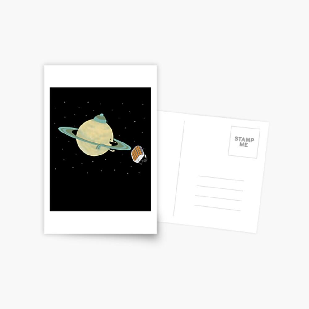 Space Heater Postcard