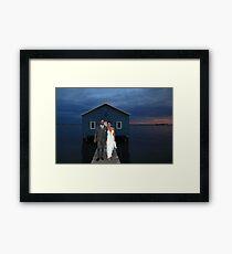 Mark And Yvette Wedding Framed Print