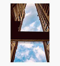 A blue street Photographic Print