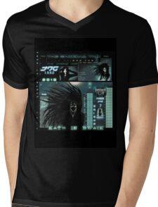 Katz In Black Mens V-Neck T-Shirt