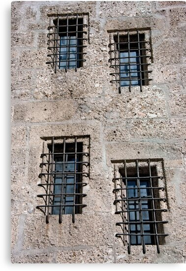 Stone Walls Do Not A Prison Make by phil decocco