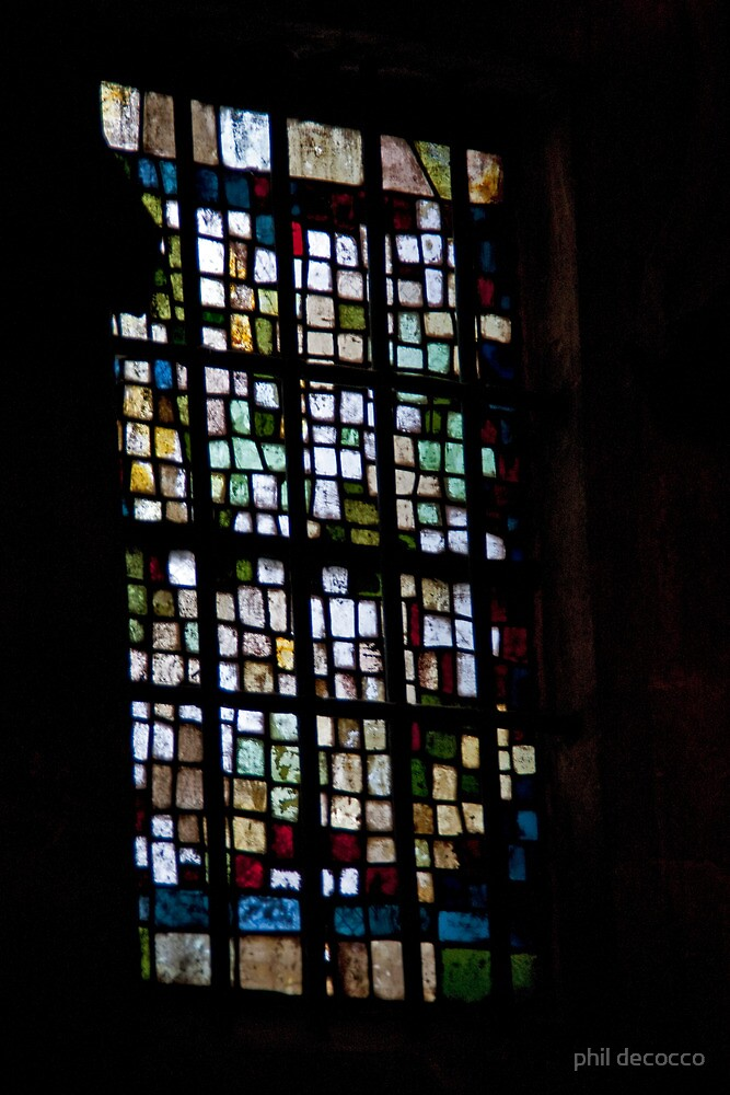 Modern Stained Glass by phil decocco