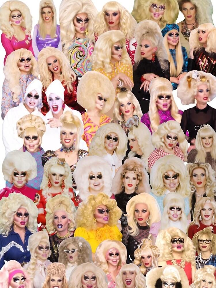 unhhhh trixie katya collage drag by dragraceuk