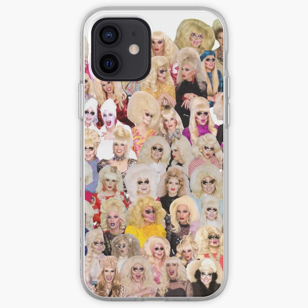unhhhh trixie katya collage drag iPhone Case & Cover