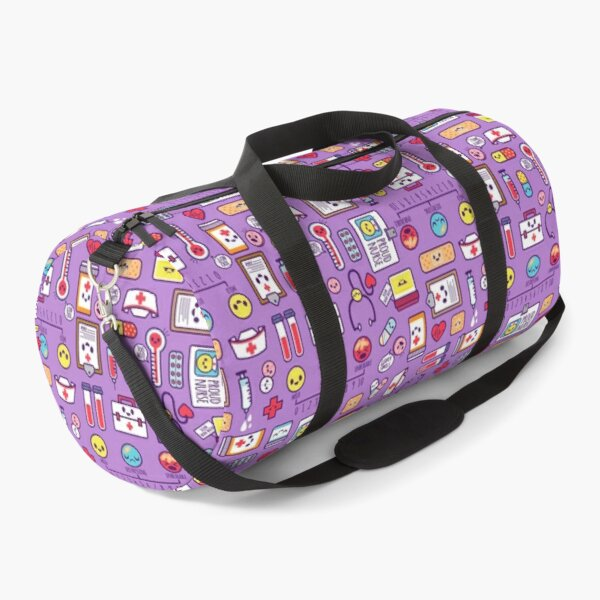 Proud to Be a Nurse / Purple Duffle Bag
