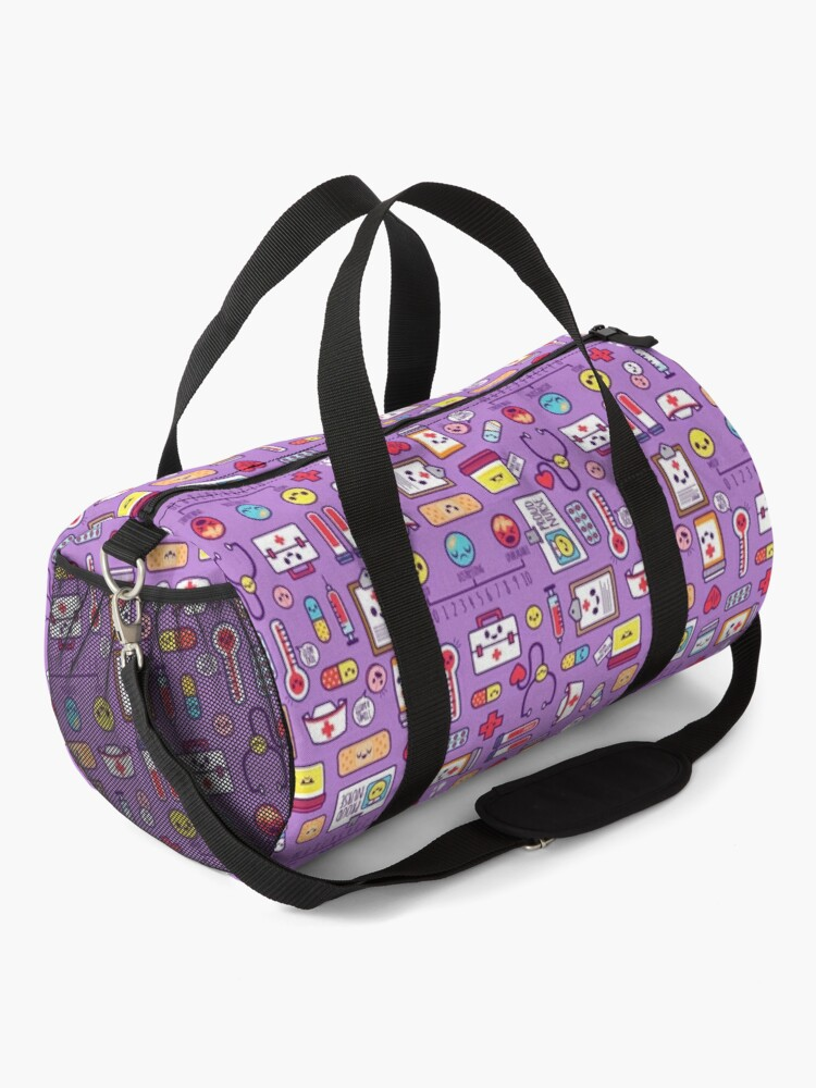 Alternate view of Proud to Be a Nurse / Purple Duffle Bag