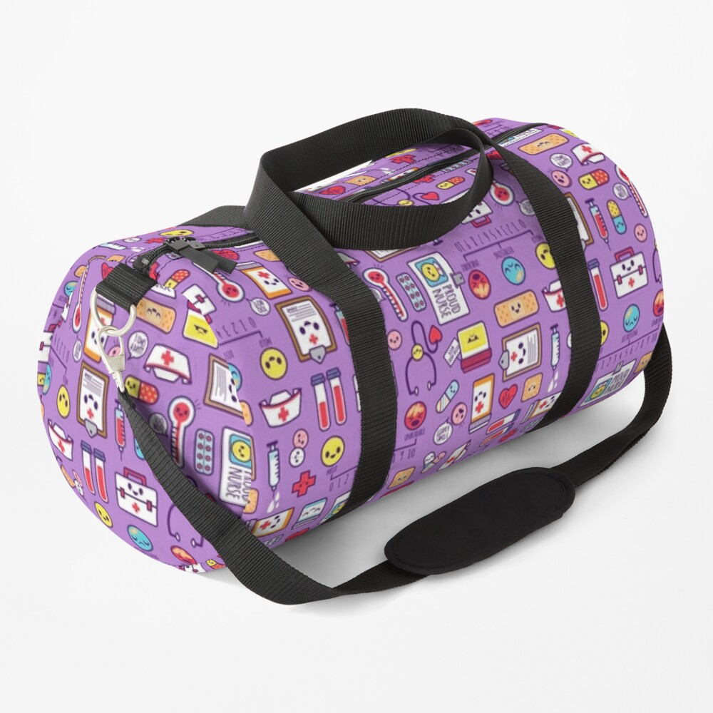 Proud to Be a Nurse / Purple Duffle Bag