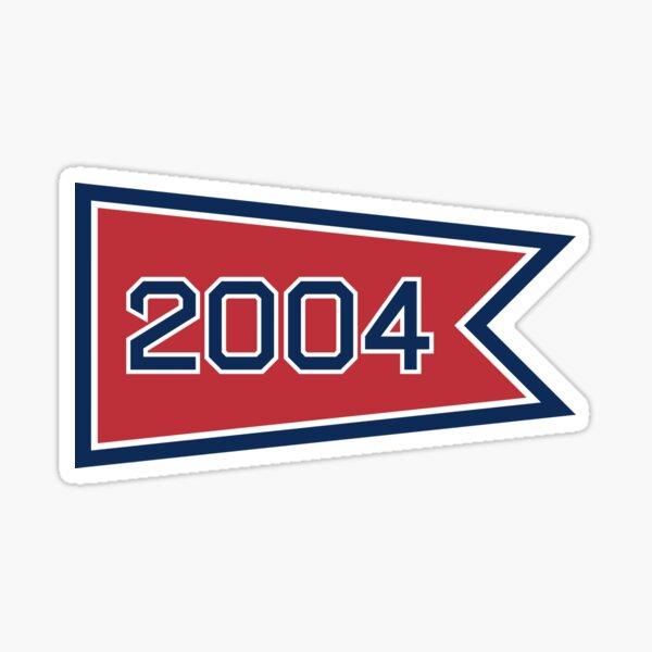BOS 2004 Pennant Sticker