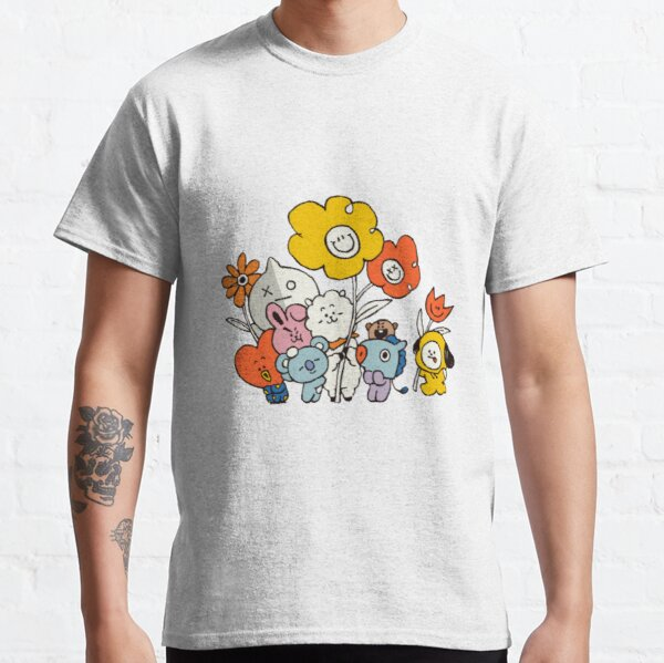 BT21 Flower Classic T-Shirt