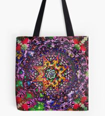 Psychedelic Symmetry Tote Bag