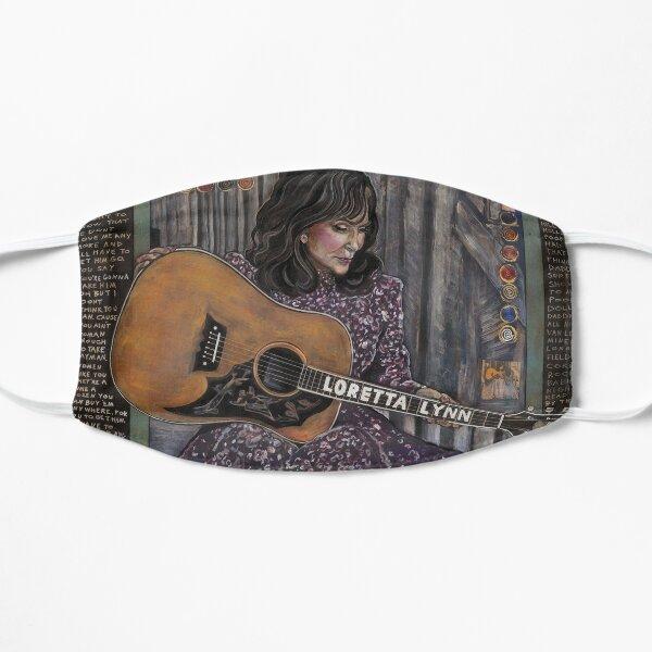 Loretta Lynn Flat Mask