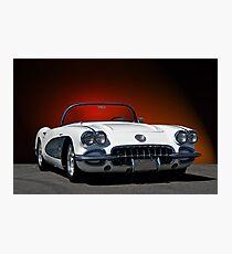 1959 Corvette Roadster I  Photographic Print