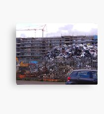 Parking for 4000 Cars Canvas Print
