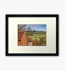 Turville - A Much Used Film Location - 1 Framed Print