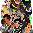 Dragon Age: The Inquisition by highjinkx