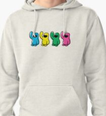 4 kinds of Happy Pullover Hoodie