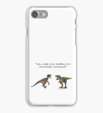 """Ah, curse your sudden but inevitable betrayal!"" - Firefly iPhone Case/Skin"