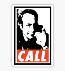 CALL Saul Sticker