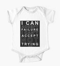 I Can Accept Failure - Michael Jordan One Piece - Short Sleeve