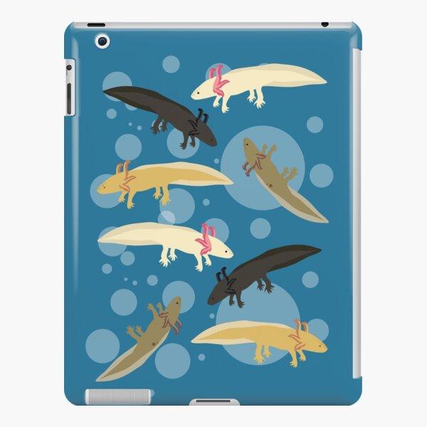 Axolotl Pattern iPad Snap Case
