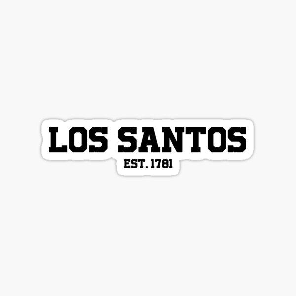Los Santos - GTA V Sticker