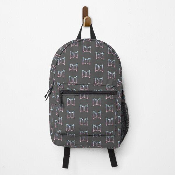 BTS graffiti logo Backpack