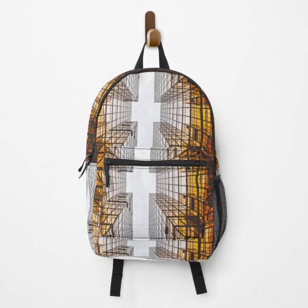 Futuristic pattern Backpack
