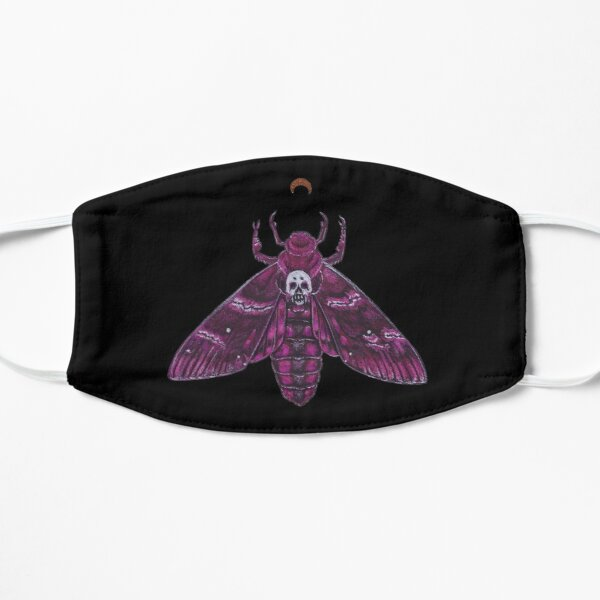 Pink Deathhead Moth Mask