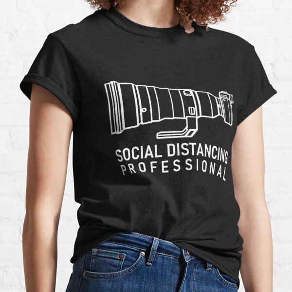 Social distancing with Sony A9 Classic T-Shirt