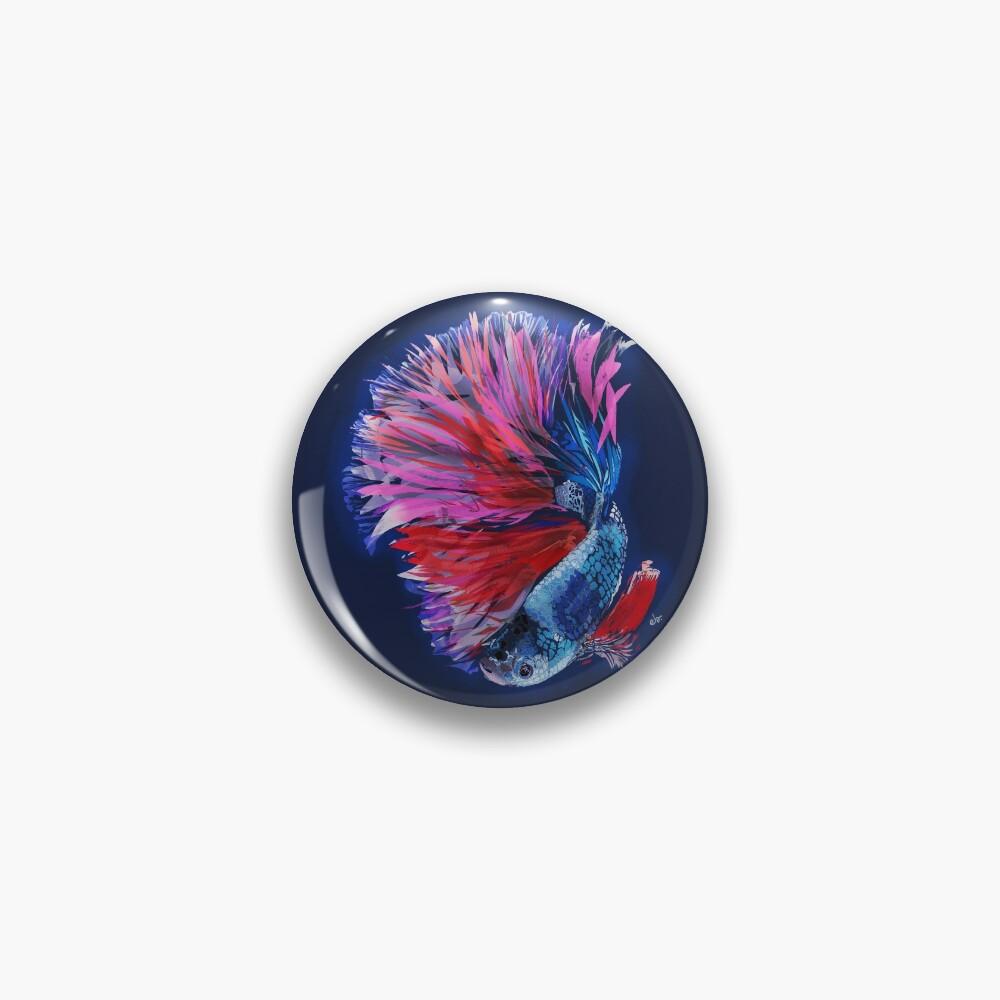 Magical beta fish Pin