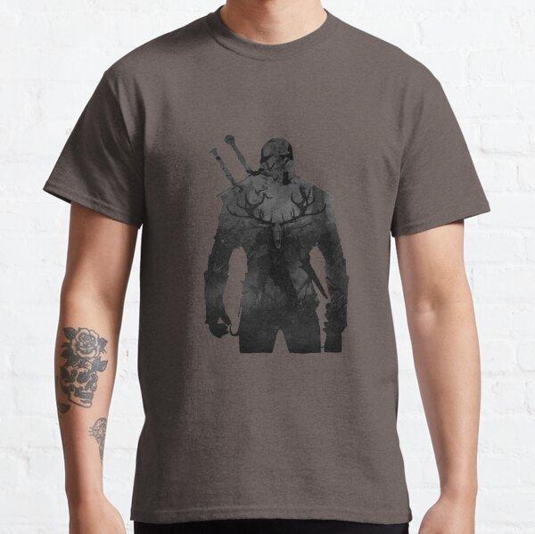 Chasseur de nuit - The Witcher Warrior T-shirt classique