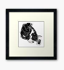 GlaDos Free Draw Framed Print