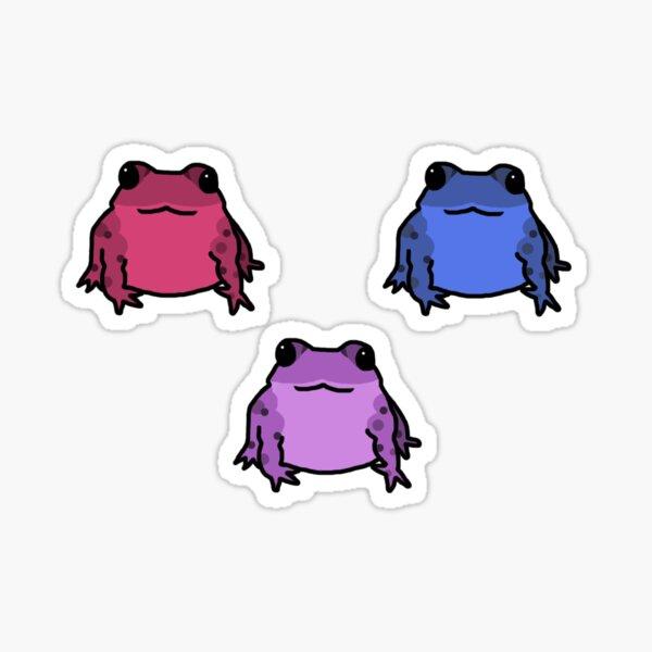 Happy Frog Sticker Pack Sticker