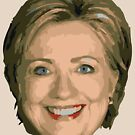 Hillary 2016 by Tuck Ross