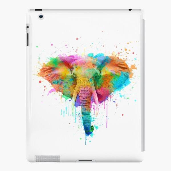 Watercolor elephant iPad Snap Case