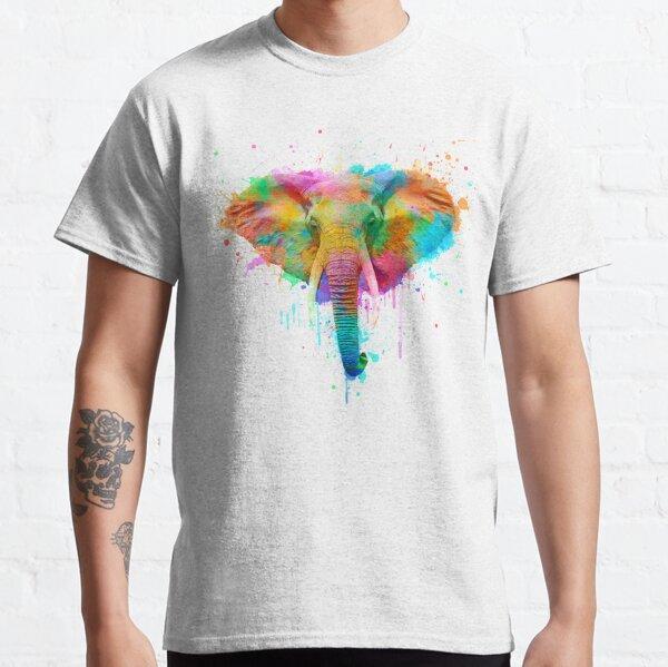 Watercolor elephant Classic T-Shirt