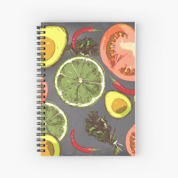 Veggies Rule Spiral Notebook