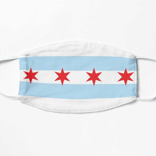 Chicago Flag Mask