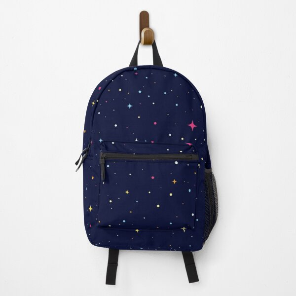 stars and circles pattern Backpack