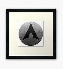 Arch Linux Framed Print