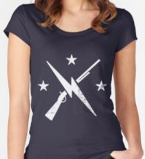 The Commonwealth Minutemen Women's Fitted Scoop T-Shirt