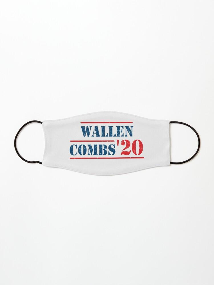 Morgan Wallen And Luke Combs 2020 Vintage Wallen Combs 20 Wallen Combs For President Mask By Pettauan Redbubble
