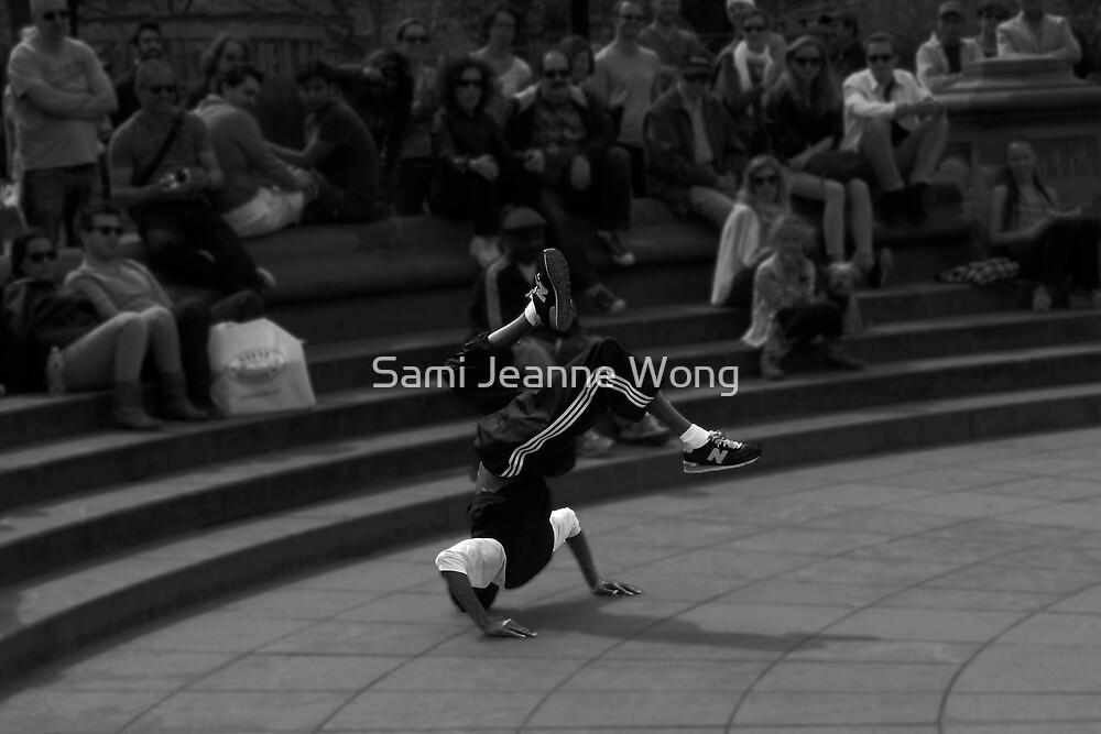 Headstand - Washington Square Park by Sami Wong