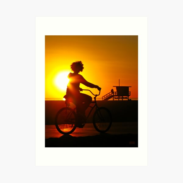 Sunkissed in Santa Monica Art Print