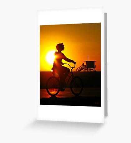 Sunkissed in Santa Monica Greeting Card