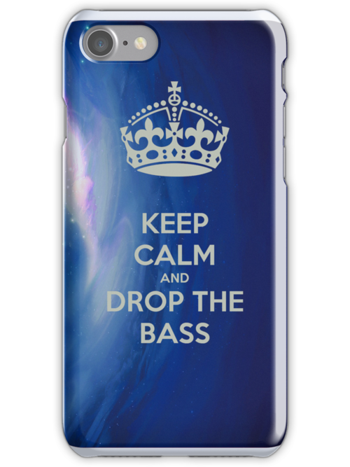Keep calm and drop the bass case by luisemd