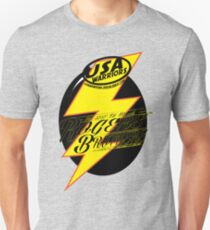 usa warriors bolt by rogers bros Slim Fit T-Shirt
