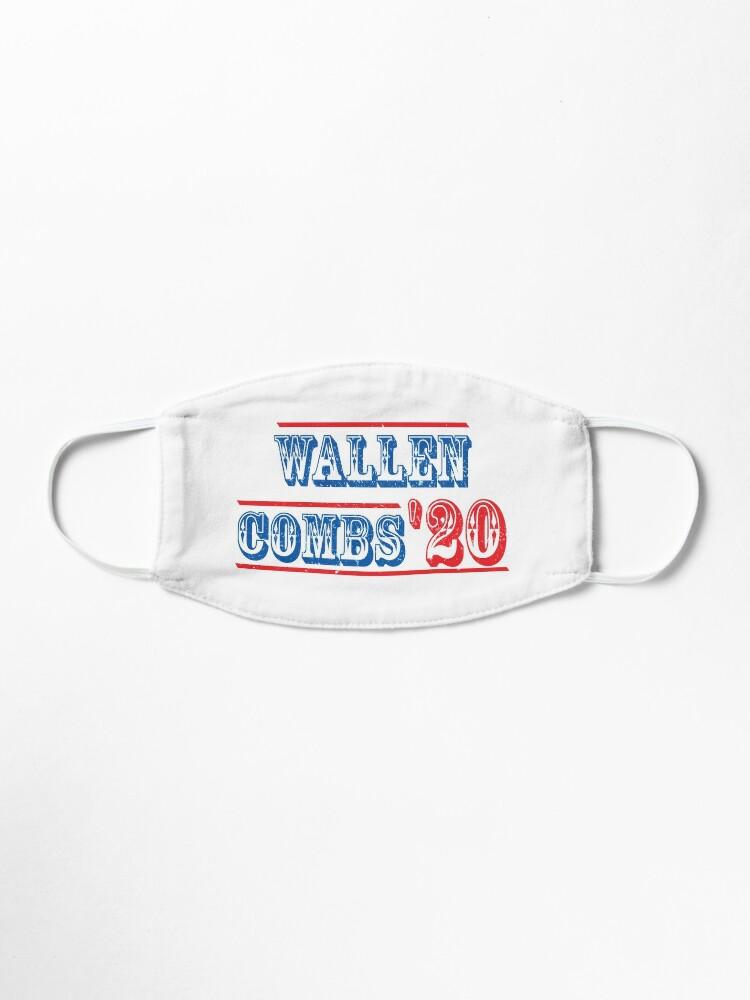 Morgan Wallen And Luke Combs 2020 Vintage Wallen Combs For President Tee Wallen Combs 20 Shirt Mask By Pettauan Redbubble