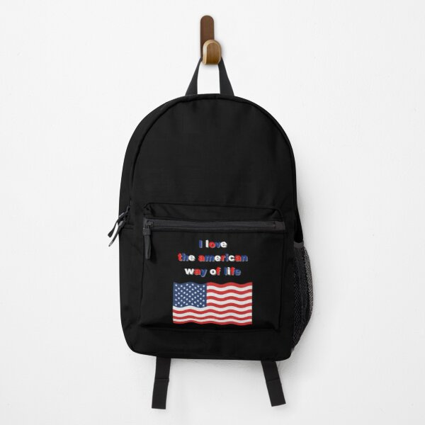 amarican way, flag america, love america Backpack