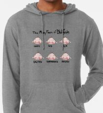 The Many Faces of Blobfish Lightweight Hoodie